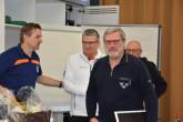 15 Jahre voller (Kampfrichter)-Einsatz: Uwe Euskirchen wurde in Frankfurt verabschiedet (Foto: DTU/ Dennis Sandig)