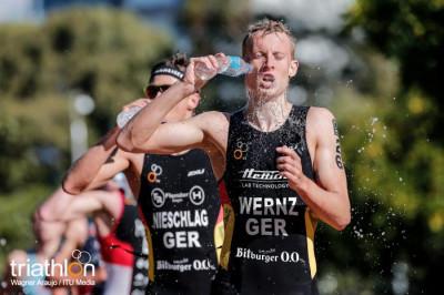 Foto: ITU/Wagner Araujo | Justus Nieschlag (links) und Valentin Wernz