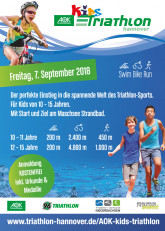 AOK Kids Triathlon am 07.09.2018