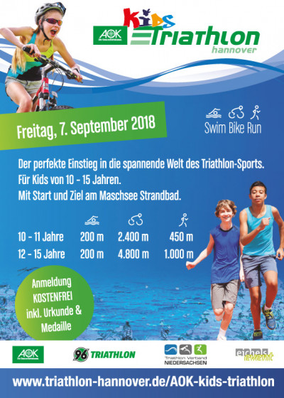 AOK Kids Triathlon am 07.09.2018
