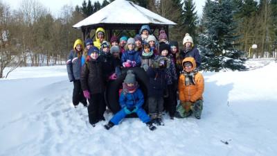 Kids-Erlebniswochenende.....mit Schneesturm und Schlitten!