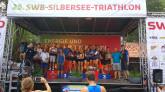 25. swb-Silbersee – Triathlon in Stuhr - Regionalliga (TRL) und Landesliga (TLL) bei sommerlich heißen Temperaturen am Silbersee in Stuhr