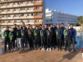 Landeskader Niedersachsen Triathlon war vom 7. bis 21. April  im Trainingslager