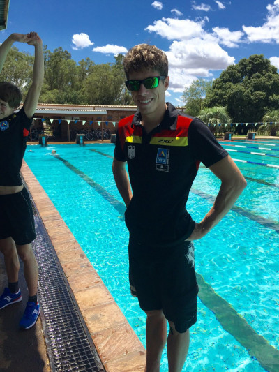 ITU Weltcup Huelva: Nieschlag mit erstem Weltcup-Sieg seiner Karriere