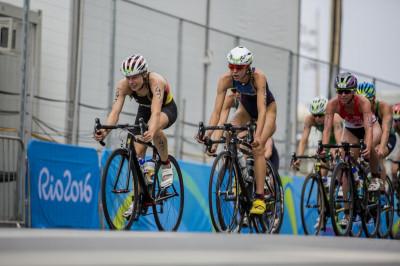 Laura Lindemann bei den Olympischen Spielen 2016 in Rio | Foto: DTU/Jo Kleindl