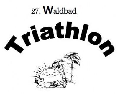 Der 27. Waldbad Triathlon findet am 15.08.2020 statt!