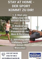 Sport Goslar bringt den Sport zu Dir