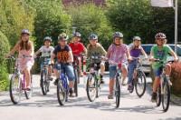 Zwei erfolgreiche Projekttage rund ums Radfahren